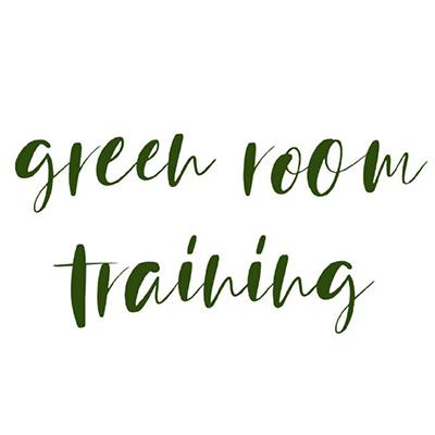 logotype green room training